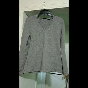 NWOT gray FILA hoodie